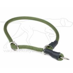 Mystique® Nyakörv nylon kerek stoppal 8mm 60cm olive zöld