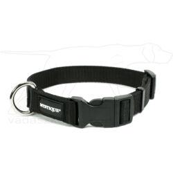 Mystique® Nylon nyakörv 25mm fekete 55-65cm