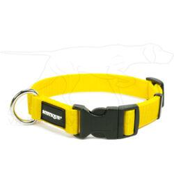 Mystique® Nylon nyakörv 25mm sárga 30-40cm