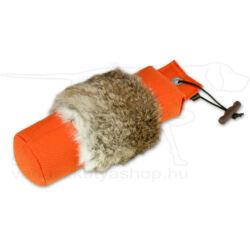 """Mystique® Dummy """"Rabbit fur"""" 1000g narancssárga - szőrmével borított"""