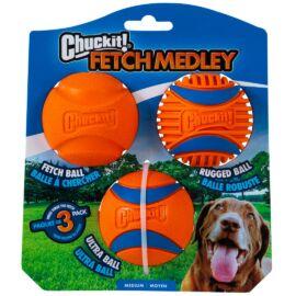Chuckit Medley Medium - Set Fetch, Ultra and Rugged Ball 6,5cm (M)