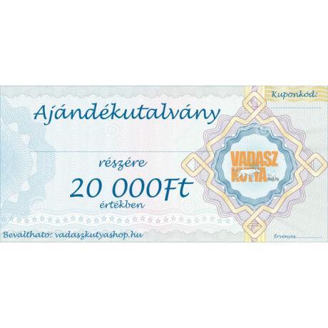 Ajándékutalvány 20 000Ft értékben