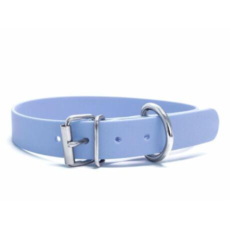 Mystique® Biothane nyakörv classic 25mm pastel kék 45-53cm