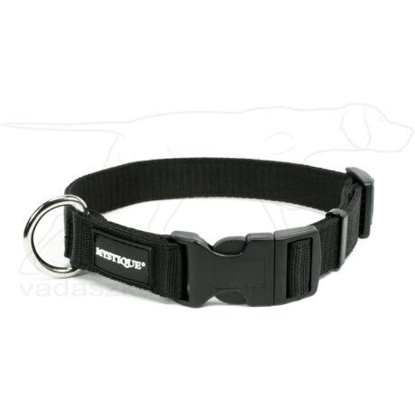 Mystique® Nylon nyakörv 25mm fekete 30-40cm
