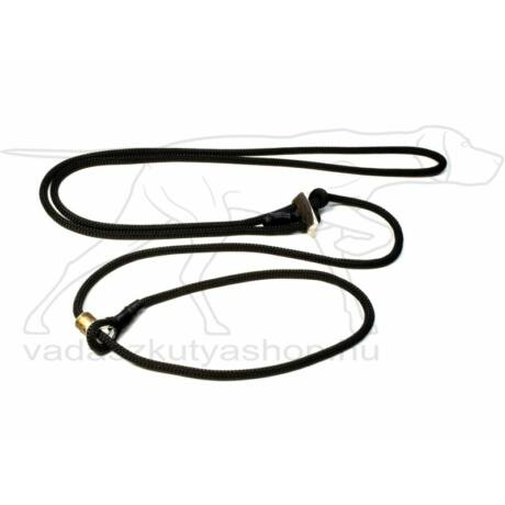 "Mystique® ""Hunting Profi silent"" hunting leash 8mm fekete 280cm"