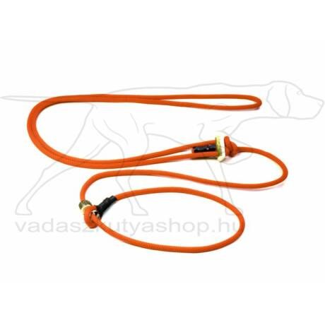 "Mystique® ""Hunting Profi silent"" hunting leash 8mm narancs 280cm"