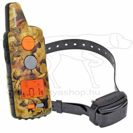 D Control Professional 2000 kutyakiképző nyakörv – Dogtrace – Camo-terepszín