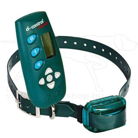 D Control 500 Mini elektromos kutyakiképző nyakörv (500m) – Dogtrace – biothane nyakszíjjal