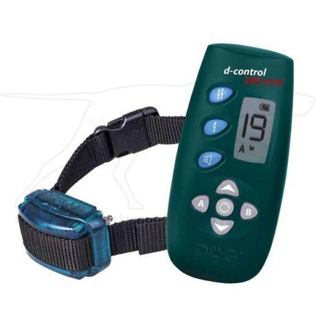 D Control 200 Mini elektromos kutyakiképző nyakörv (200m) – Dogtrace – textil nyakszíjjal