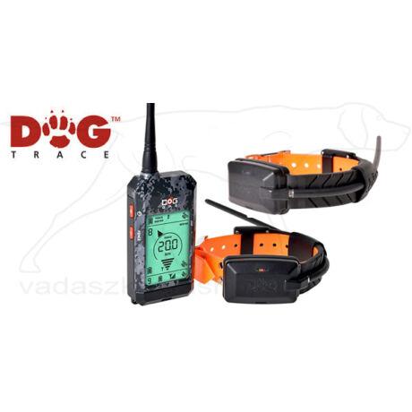DOG GPS X22 GPS-RF helyzetmeghatározó nyakörvszett 2 kutyához – Dogtrace