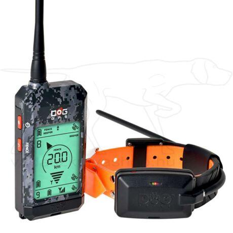 GPS nyakörv szett DOG GPS X20 Plus – Dogtrace – Szürke-camo