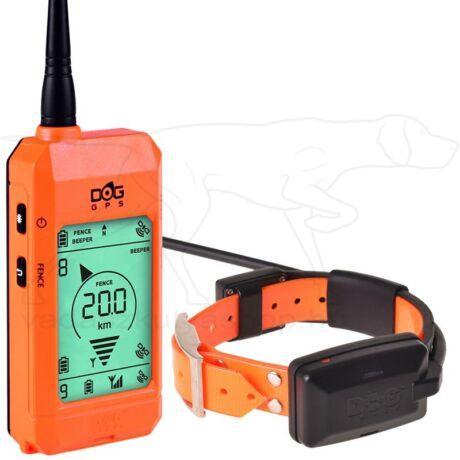 GPS nyakörv szett DOG GPS X20 Plus – Dogtrace – Narancs