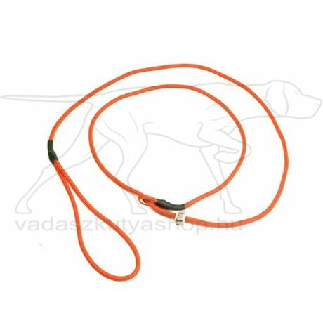 Mystique® Field trial moxon póráz 4mm 130cm neon narancssárga