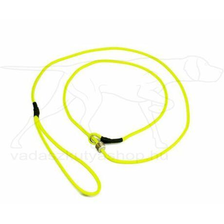 Mystique® Field trial moxon póráz 4mm 130cm neonsárga