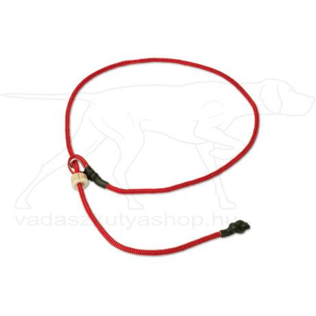 "Mystique® Field trial moxon ""Short leash"" póráz 4mm 80cm piros"