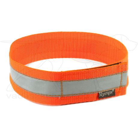 Mystique® Fényvisszaverő nyakörv 50cm neonnarancssárga