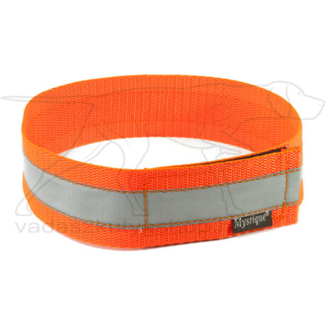 Mystique® Fényvisszaverő nyakörv 55cm neonnarancssárga