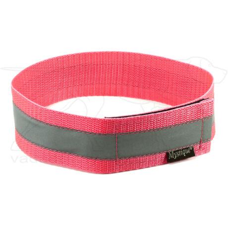 Mystique® Fényvisszaverő nyakörv 50cm neonrózsaszín