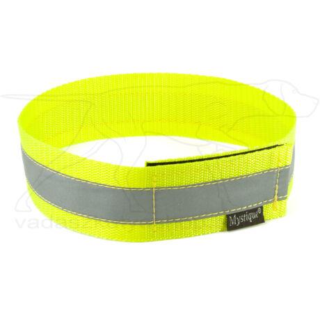 Mystique® Fényvisszaverő nyakörv 40cm neonsárga