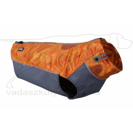 Worker vest-Orange Camo-XL