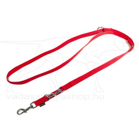 Mystique® Nylon kiképző póráz 20mm piros 250cm