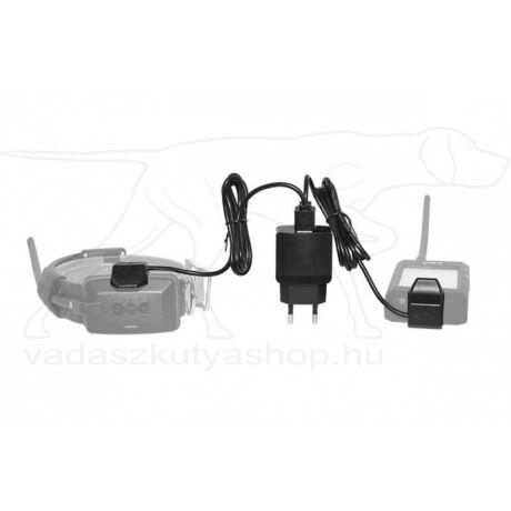 DOG GPS X20/X30/X30T dupla töltő, kábellel és töltő klipszel