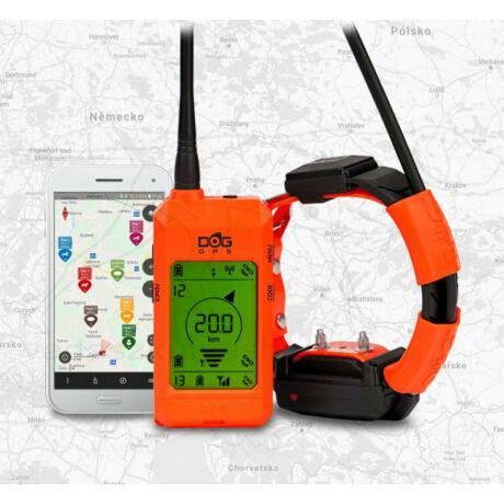 GPS nyakörv szett kiképző funkcióval DOG GPS X30T – Dogtrace