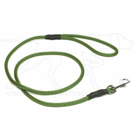 Mystique® FT póráz 8 mm-es, karabinerrel, 130cm hosszú, oliva zöld
