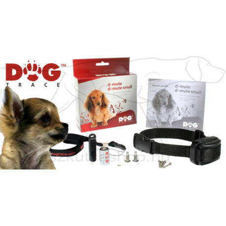 D-Mute Small Light ugatásgátló nyakörv – Dogtrace