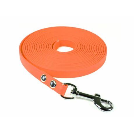 Mystique® Biothane nyomkövető pórázok 13mm narancssárga 10m