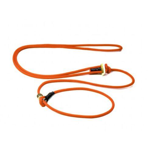 "Mystique® ""Hunting Profi silent"" hunting leash 8mm neon narancs 280cm"