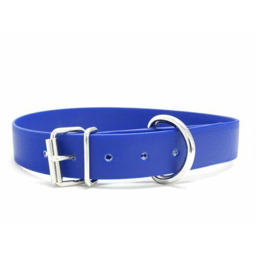 Mystique® Biothane nyakörv classic 25mm kék 40-48cm
