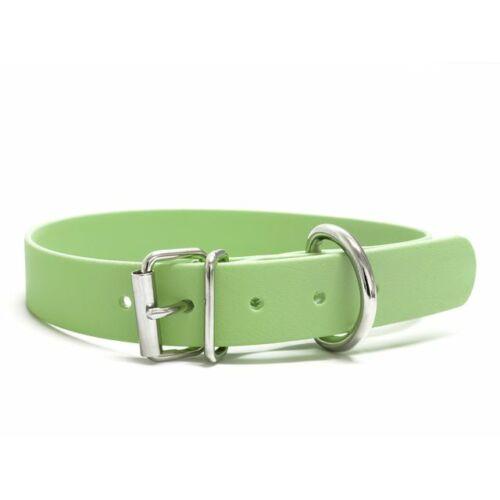 Mystique® Biothane nyakörv classic 25mm pasztell zöld 45-53cm