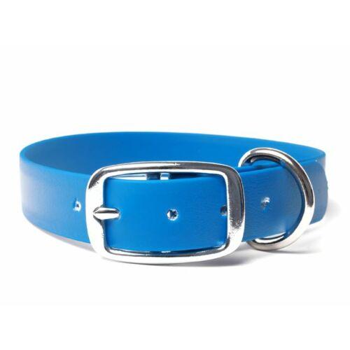 Mystique® Biothane deluxe nyakörv 25mm világoskék 50-58cm
