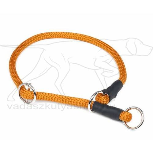 Mystique® Nyakörv nylon kerek stoppal 8mm 35cm narancsárga