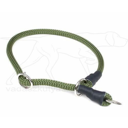 Mystique® Nyakörv nylon kerek stoppal 8mm 65cm olive zöld