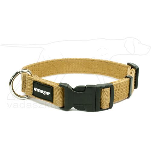Mystique® Nylon nyakörv 25mm bézs 40-50cm