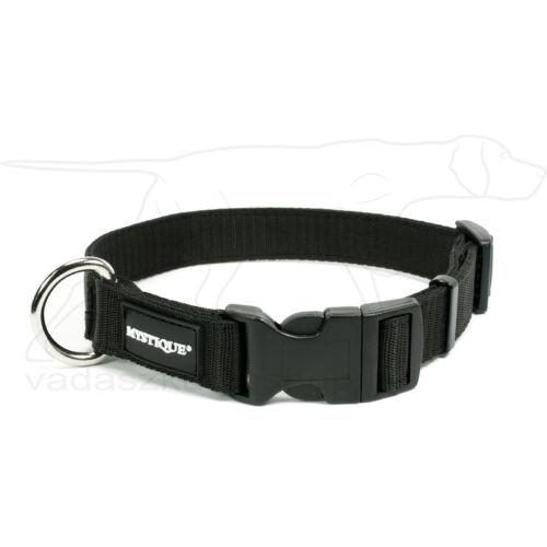 Mystique® Nylon nyakörv 25mm fekete 50-60cm