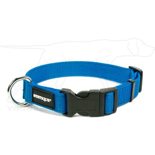 Mystique® Nylon nyakörv 25mm kék 55-65cm