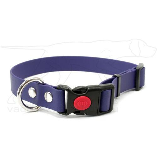 Mystique® Biothane safety click collar 19mm 30-40cm lila