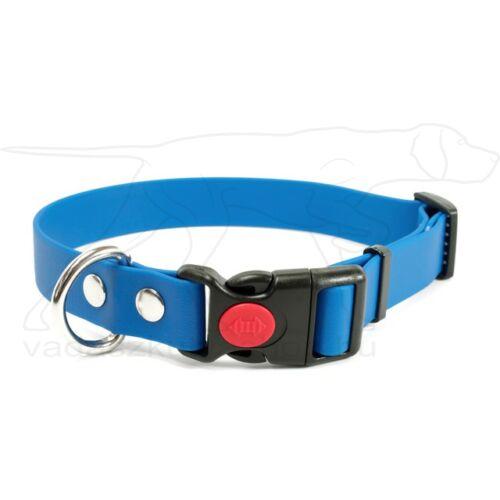 Mystique® Biothane safety click collar 25mm 40-50cm világos kék