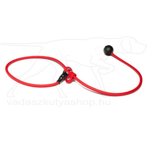 BioThane® rövid póráz 6mm 80cm piros