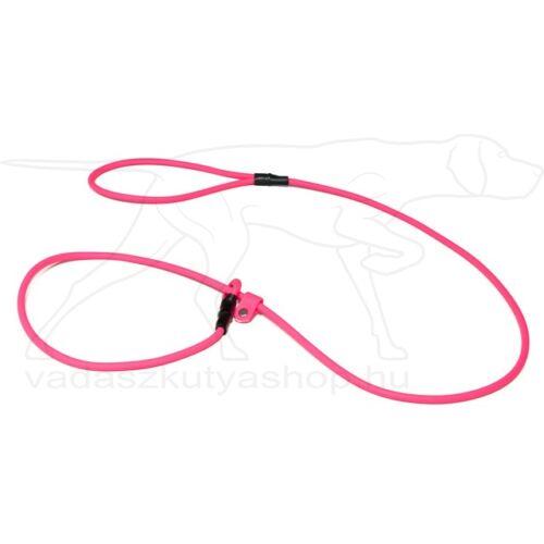 BioThane® moxon póráz 8mm 130cm neon rózsaszín