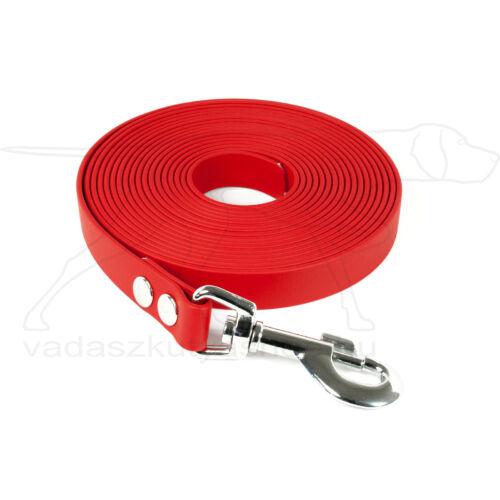 Mystique® Biothane nyomkövető pórázok 16mm piros 5m