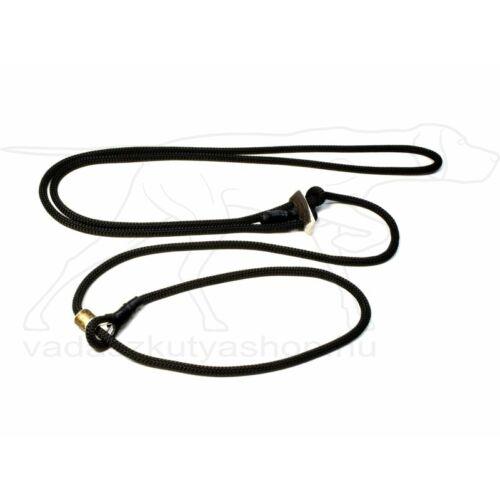 "Mystique® ""Hunting Profi silent"" hunting leash 8mm fekete 280cm"