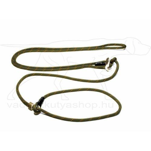 "Mystique® ""Hunting Profi silent"" hunting leash 8mm vadászzöld/narancssárga 280cm"