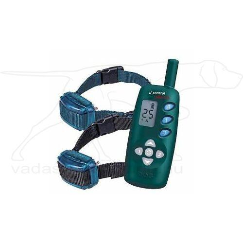 D Control 502 Mini elektromos kutyakiképző nyakörv (500m) – Dogtrace – biothane nyakszíjjal