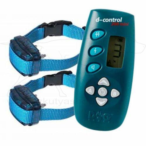 D Control 202 Mini elektromos kutyakiképző nyakörv két kutyához (200m) – Dogtrace