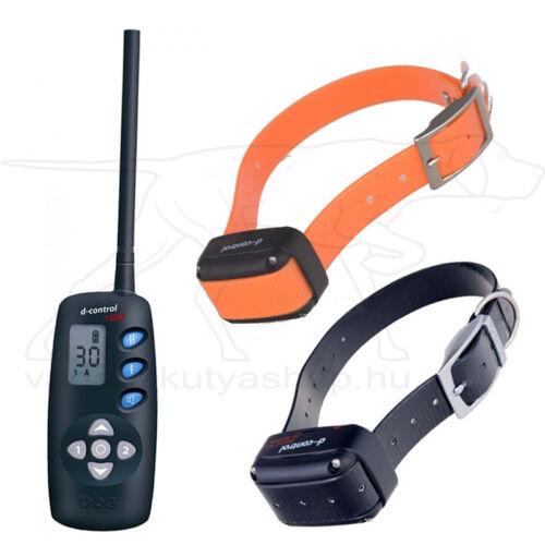 D Control 1602 elektromos kiképző nyakörv (1600m) – Dogtrace – biothane nyakszíjjal