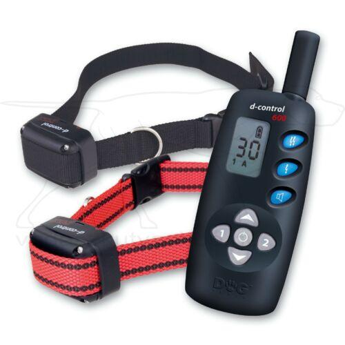 D Control 602 elektromos kutyakiképző nyakörv szett (600m) – Dogtrace – textil nyakszíjjal